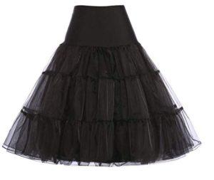 meilleur jupon sous robe