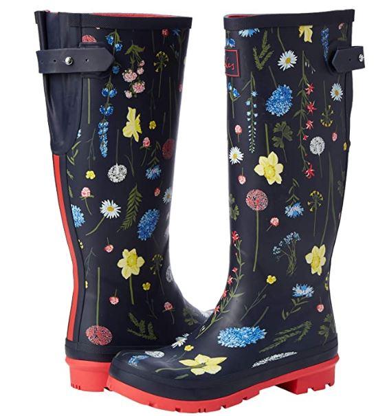 Bottes de pluie Joules Welly Print