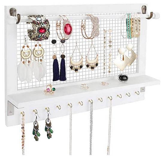 étagère à bijoux
